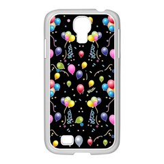 Balloons   Samsung Galaxy S4 I9500/ I9505 Case (white) by Valentinaart