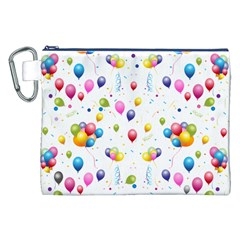 Balloons   Canvas Cosmetic Bag (xxl) by Valentinaart
