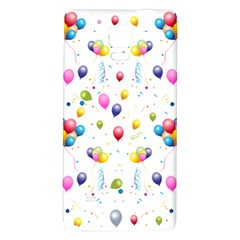 Balloons   Galaxy Note 4 Back Case by Valentinaart
