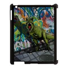 Urban T Rex Apple Ipad 3/4 Case (black) by Valentinaart
