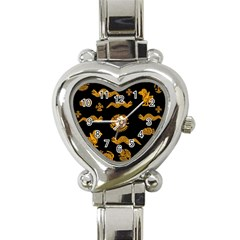 Aztecs Pattern Heart Italian Charm Watch by Valentinaart