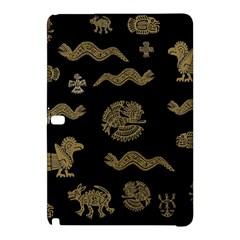 Aztecs Pattern Samsung Galaxy Tab Pro 12 2 Hardshell Case by Valentinaart
