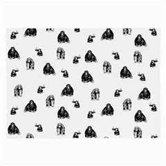 Chimpanzee Large Glasses Cloth by Valentinaart