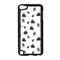 Chimpanzee Apple Ipod Touch 5 Case (black) by Valentinaart