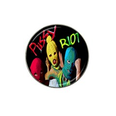 Pussy Riot Hat Clip Ball Marker by Valentinaart