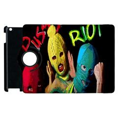 Pussy Riot Apple Ipad 2 Flip 360 Case by Valentinaart