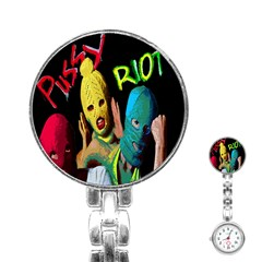 Pussy Riot Stainless Steel Nurses Watch by Valentinaart