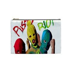 Pussy Riot Cosmetic Bag (medium)  by Valentinaart