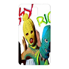 Pussy Riot Samsung Galaxy Note 3 N9005 Hardshell Back Case by Valentinaart