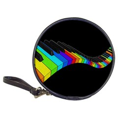 Rainbow Piano  Classic 20 Cd Wallets by Valentinaart