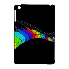 Rainbow Piano  Apple Ipad Mini Hardshell Case (compatible With Smart Cover) by Valentinaart