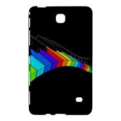 Rainbow Piano  Samsung Galaxy Tab 4 (8 ) Hardshell Case  by Valentinaart