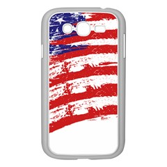American Flag Samsung Galaxy Grand Duos I9082 Case (white) by Valentinaart