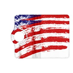 American Flag Kindle Fire Hd (2013) Flip 360 Case by Valentinaart