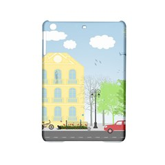 Urban Scene iPad Mini 2 Hardshell Cases by linceazul