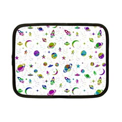 Space Pattern Netbook Case (small)  by ValentinaDesign