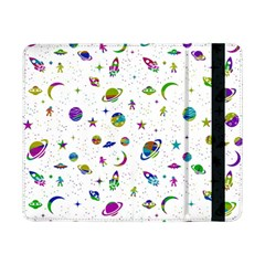 Space Pattern Samsung Galaxy Tab Pro 8 4  Flip Case by ValentinaDesign