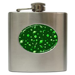 Space Pattern Hip Flask (6 Oz) by ValentinaDesign