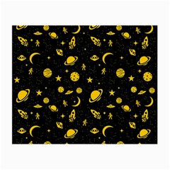 Space Pattern Small Glasses Cloth by ValentinaDesign
