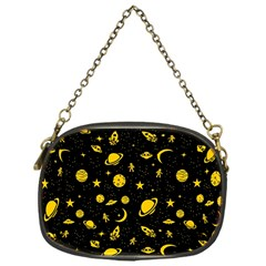 Space Pattern Chain Purses (one Side)  by ValentinaDesign