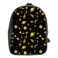 Space Pattern School Bags(large)  by ValentinaDesign
