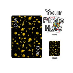 Space Pattern Playing Cards 54 (mini)  by ValentinaDesign