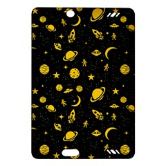 Space Pattern Amazon Kindle Fire Hd (2013) Hardshell Case by ValentinaDesign