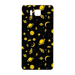 Space Pattern Samsung Galaxy Alpha Hardshell Back Case by ValentinaDesign