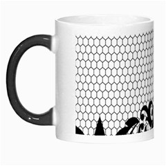 Transparent Lace Decoration Morph Mugs by Nexatart