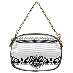 Transparent Lace Decoration Chain Purses (one Side)  by Nexatart