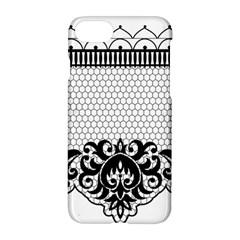 Transparent Lace Decoration Apple Iphone 7 Hardshell Case by Nexatart