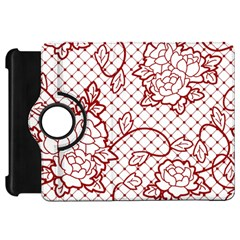 Transparent Decorative Lace With Roses Kindle Fire Hd 7  by Nexatart