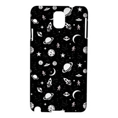 Space Pattern Samsung Galaxy Note 3 N9005 Hardshell Case by ValentinaDesign