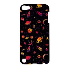 Space Pattern Apple Ipod Touch 5 Hardshell Case by ValentinaDesign