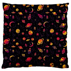 Space Pattern Standard Flano Cushion Case (two Sides) by ValentinaDesign