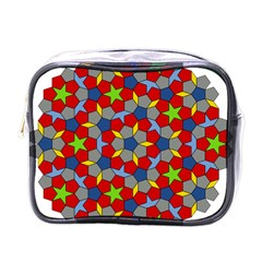 Penrose Tiling Mini Toiletries Bags by Nexatart