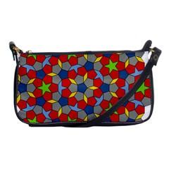 Penrose Tiling Shoulder Clutch Bags by Nexatart