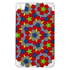 Penrose Tiling Samsung Galaxy Tab Pro 8 4 Hardshell Case by Nexatart