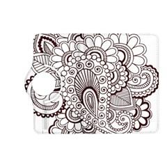 Henna Line Art Clipart Kindle Fire Hd (2013) Flip 360 Case by Nexatart