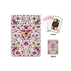 Otomi Vector Patterns On Behance Playing Cards (mini)  by Nexatart