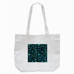 Space Pattern Tote Bag (white) by ValentinaDesign