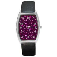 Space Pattern Barrel Style Metal Watch by ValentinaDesign