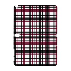 Plaid Pattern Galaxy Note 1 by ValentinaDesign