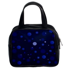 Decorative Dots Pattern Classic Handbags (2 Sides) by ValentinaDesign