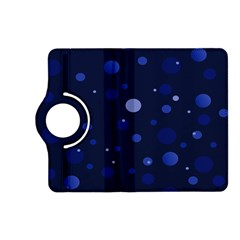 Decorative Dots Pattern Kindle Fire Hd (2013) Flip 360 Case by ValentinaDesign
