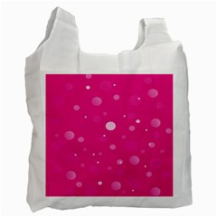 Decorative Dots Pattern Recycle Bag (two Side)  by ValentinaDesign