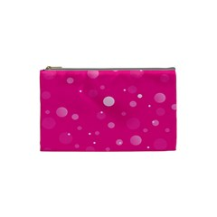 Decorative Dots Pattern Cosmetic Bag (small)  by ValentinaDesign