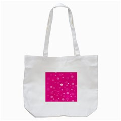Decorative Dots Pattern Tote Bag (white) by ValentinaDesign