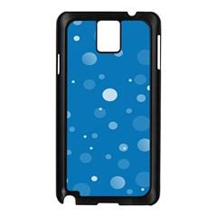Decorative Dots Pattern Samsung Galaxy Note 3 N9005 Case (black) by ValentinaDesign