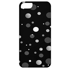 Decorative Dots Pattern Apple Iphone 5 Classic Hardshell Case by ValentinaDesign